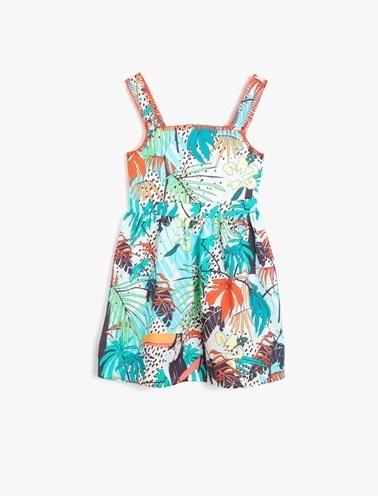 Koton Kids Elbise Yeşil